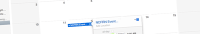 NCFRN Events
